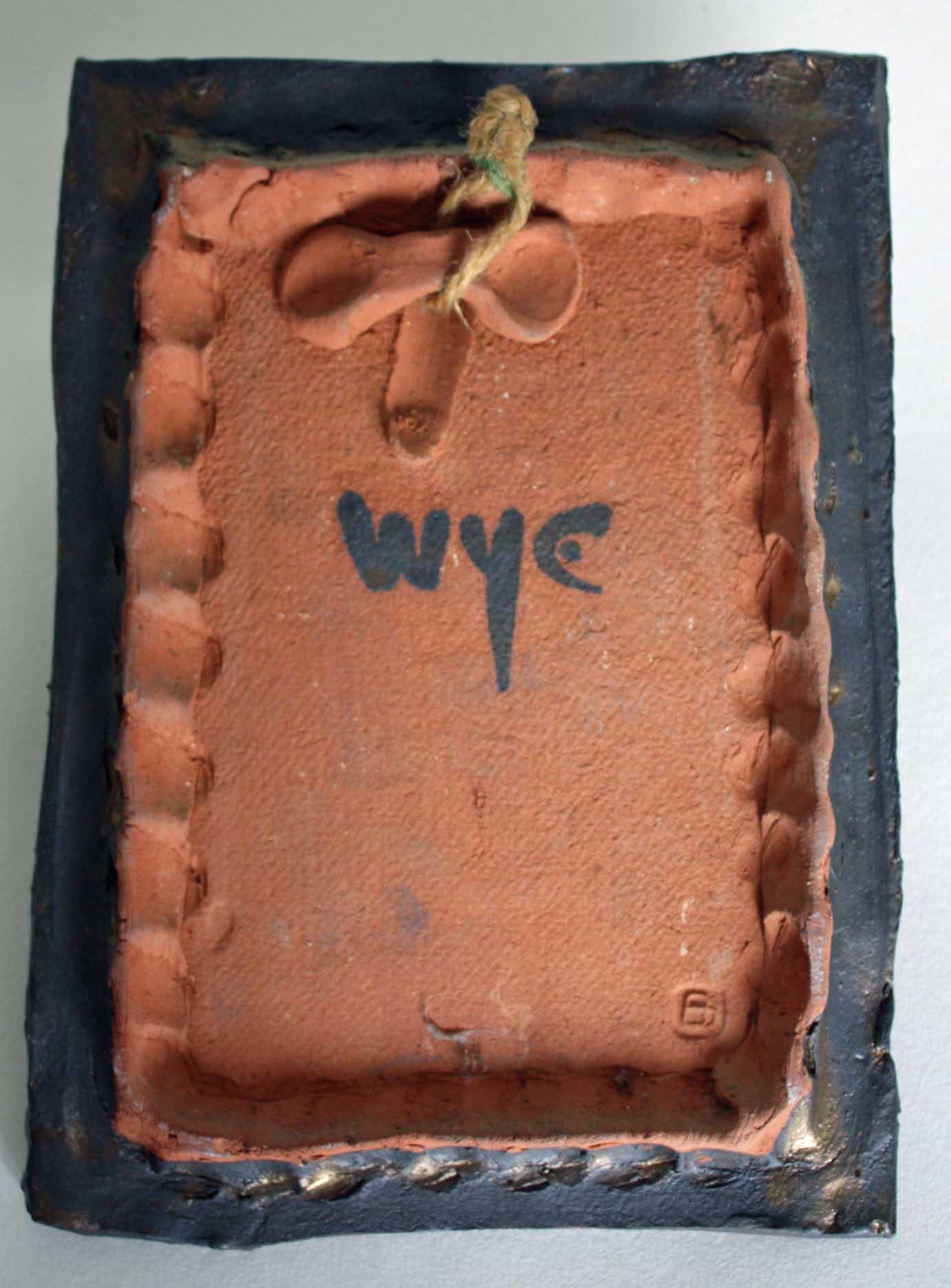 Adam Dworski Plaque For Wye Pottery Lloyd Ellis