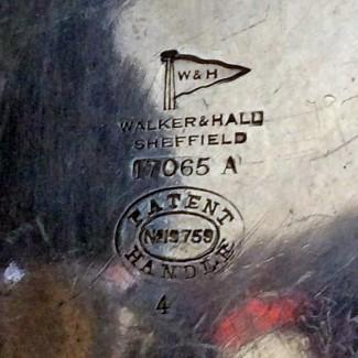 Walker & Hall tea pot marks