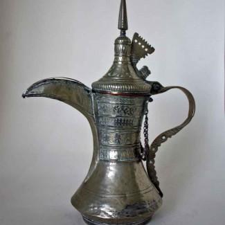 Silvered Dallah 1