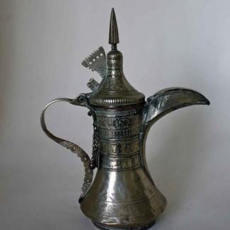 Silvered Dallah 2