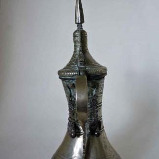 Silvered Dallah 3