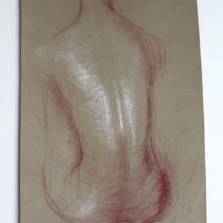 David-Weeks-seated-nude-study