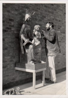 St Marys School Poole 1967 fibreglass