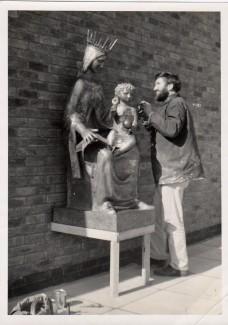 St Marys School Poole 1967 fibreglass