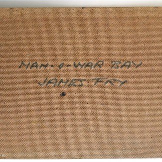James Fry Man o War Bay verso