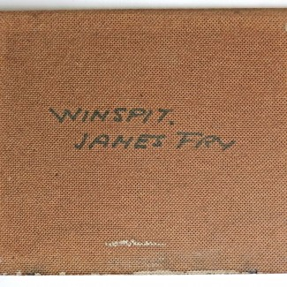 James Fry Winspit verso