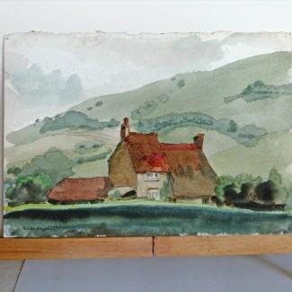 Farmhouse under the Downs
