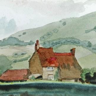 Farmhouse under the Downs 1