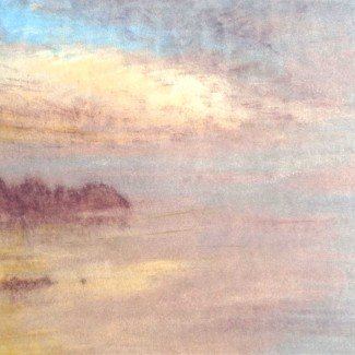 Caparne Dawn Mist at Moulin Huet Bay – 1